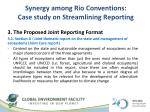synergy among rio conventions case study on streamlining reporting2