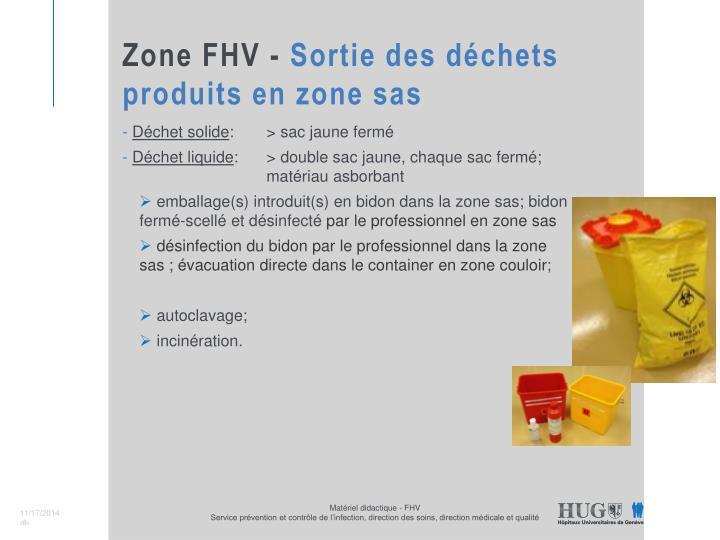Zone FHV -