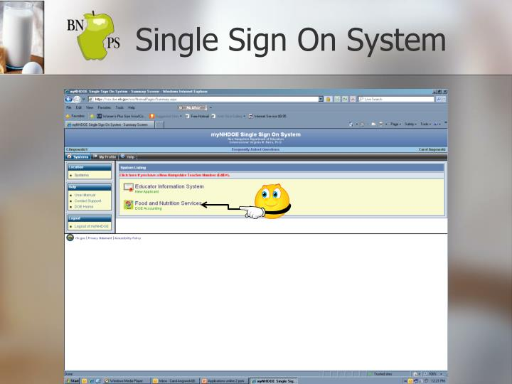 Single Sign On System