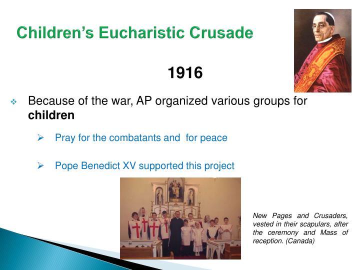 Children's Eucharistic Crusade