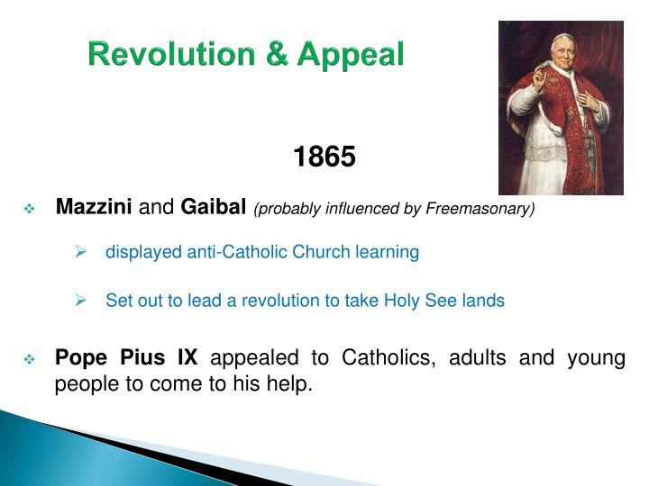 Revolution & Appeal