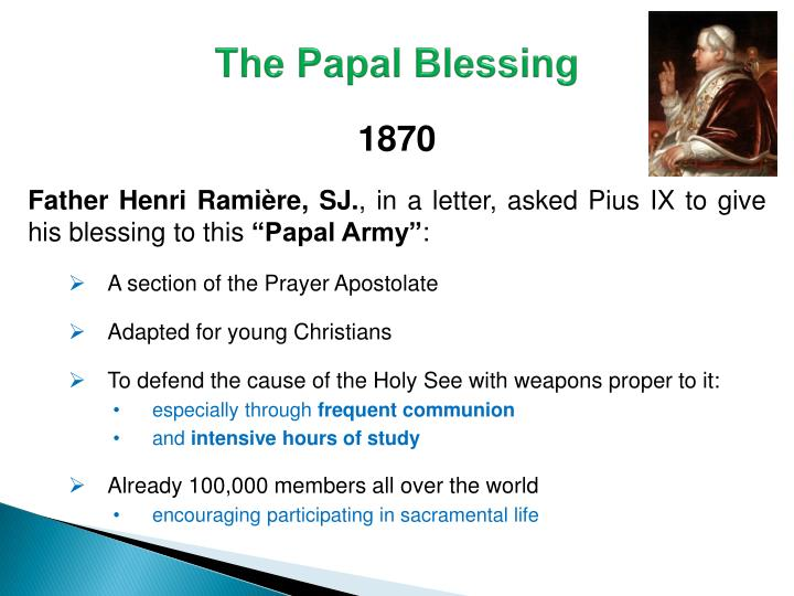 The Papal Blessing