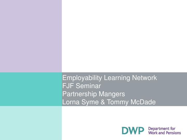 Employability Learning Network