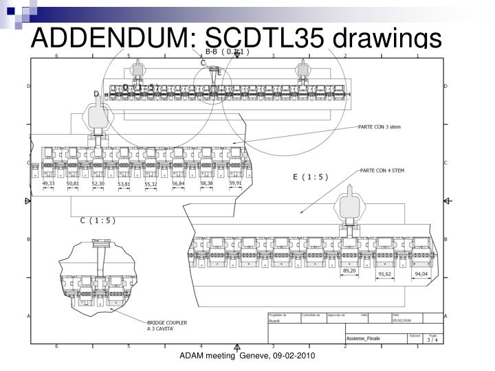 ADDENDUM: SCDTL35 drawings