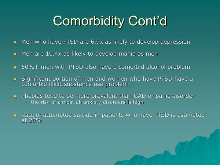 Comorbidity Cont'd