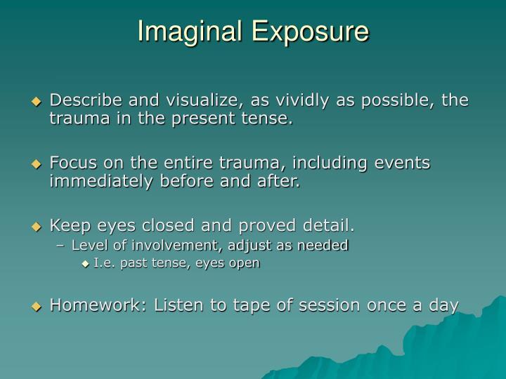 Imaginal Exposure