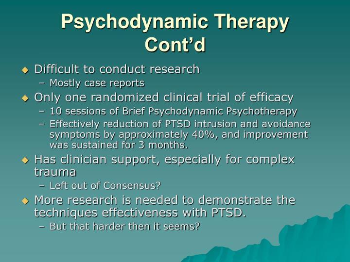 Psychodynamic Therapy