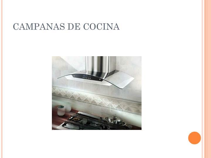 CAMPANAS DE COCINA