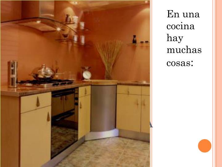 Esta es la cocina