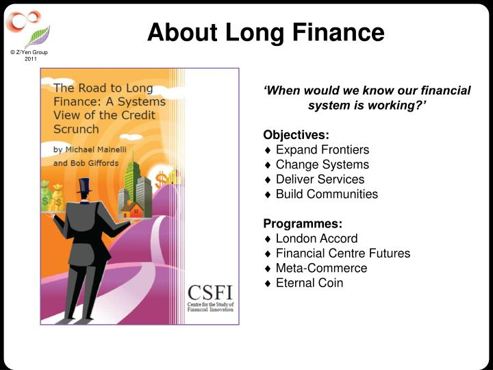 About Long Finance