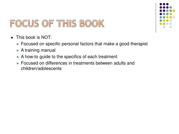 This book is NOT: