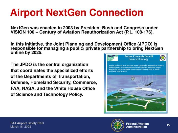 Airport NextGen Connection