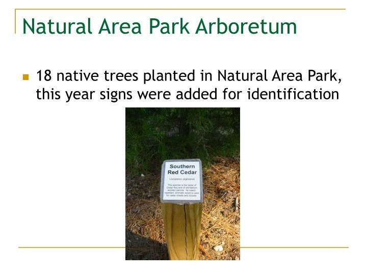 Natural Area Park Arboretum