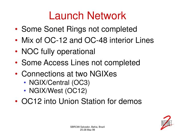 Launch Network