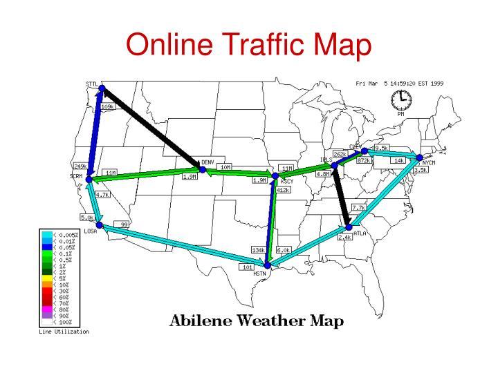 Online Traffic Map