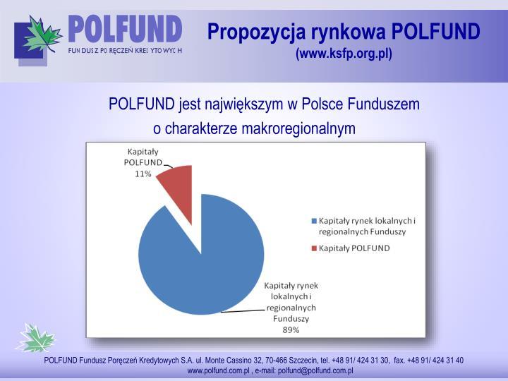 POLFUND jest największym w Polsce Funduszem