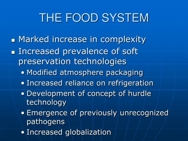 The food system
