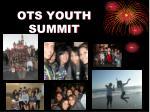 ots youth summit