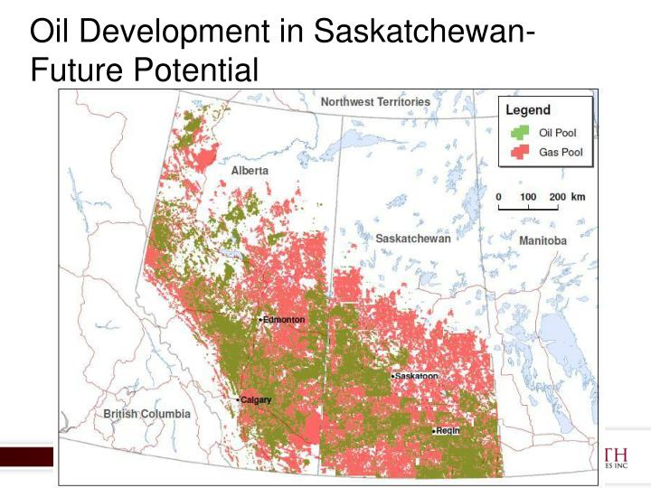 Oil Development in Saskatchewan-