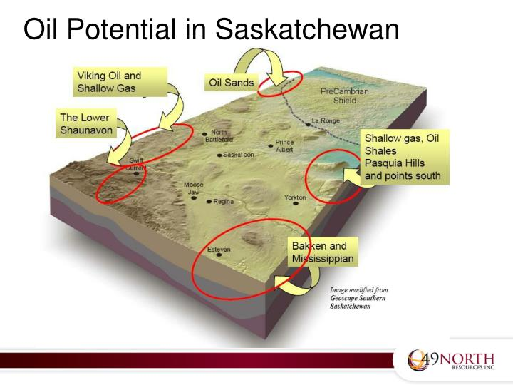 Oil Potential in Saskatchewan