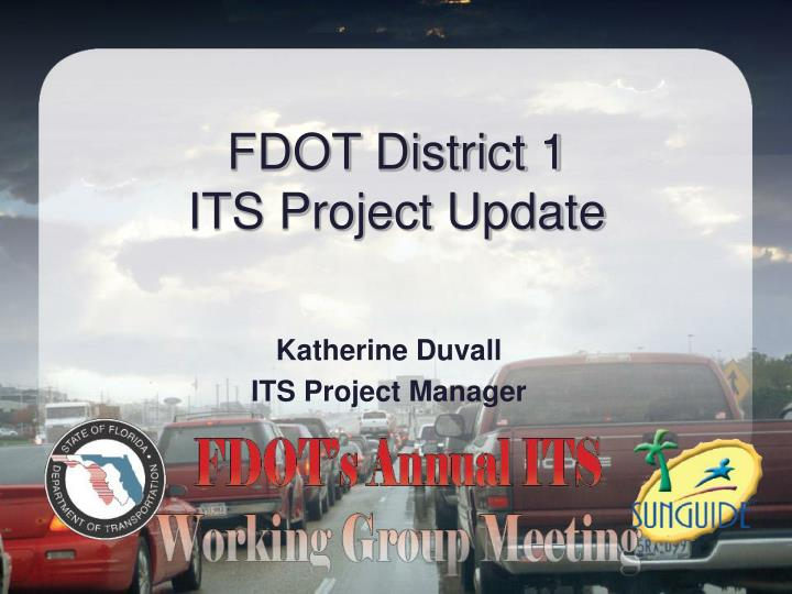Fdot district 1 its project update