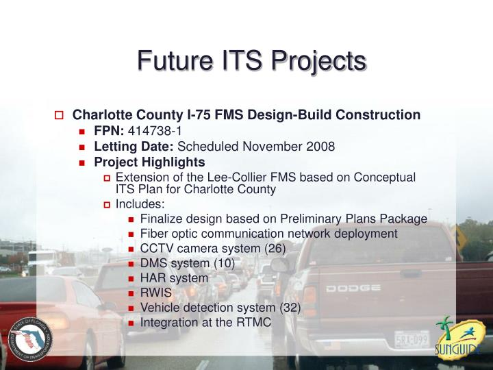 Future ITS Projects
