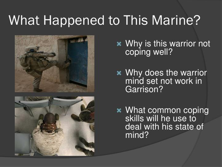 What Happened to This Marine?