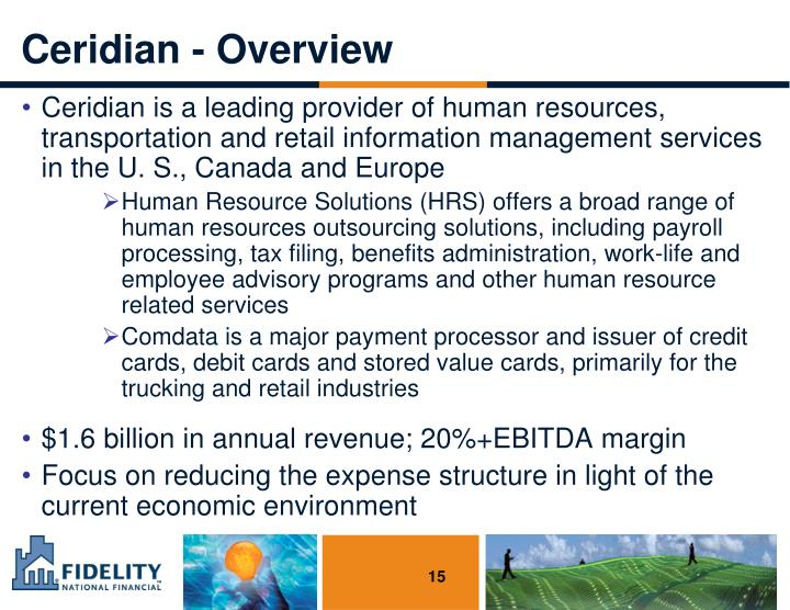 Ceridian - Overview