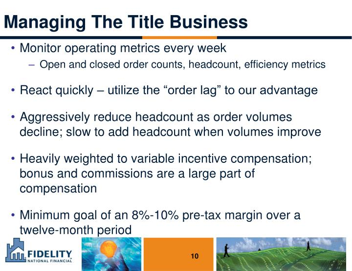 Managing The Title Business