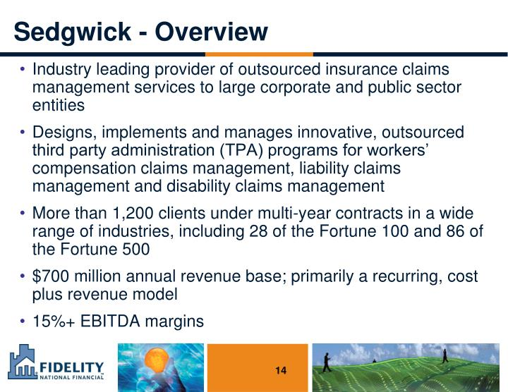 Sedgwick - Overview