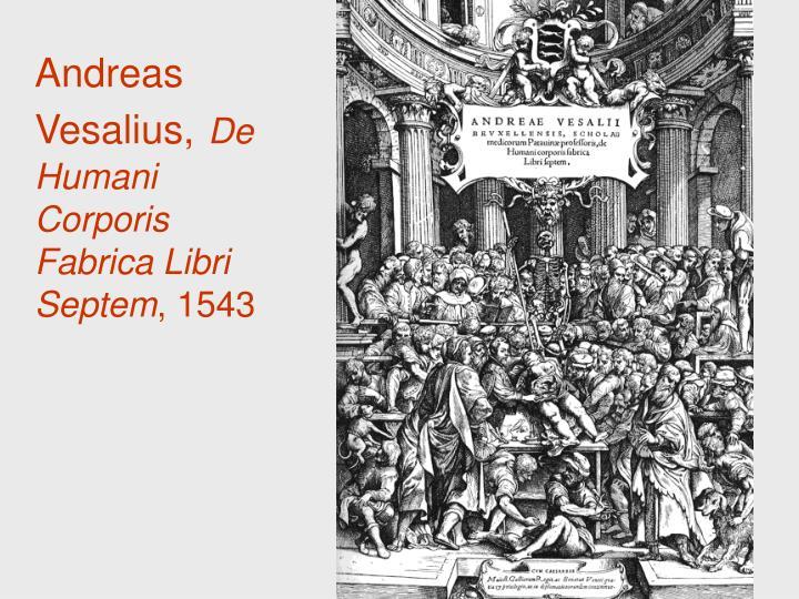 Andreas Vesalius,