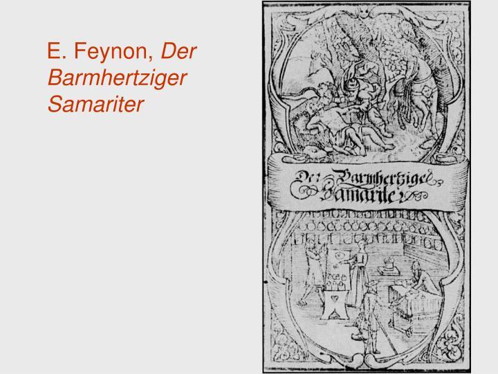 E. Feynon,