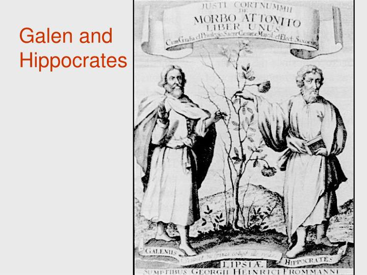 Galen and Hippocrates