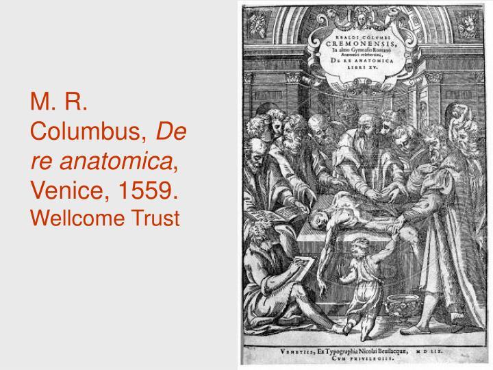 M. R. Columbus,