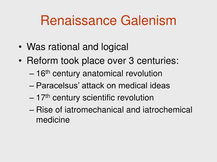Renaissance Galenism