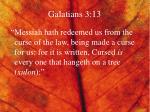 galatians 3 13