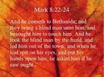 mark 8 22 24