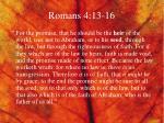 romans 4 13 16