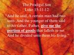 the prodigal son luke 15 11 12