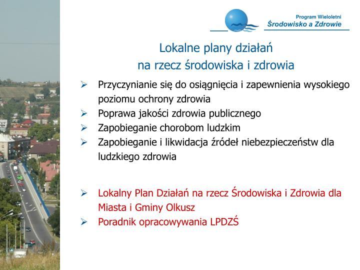 Lokalne plany działań