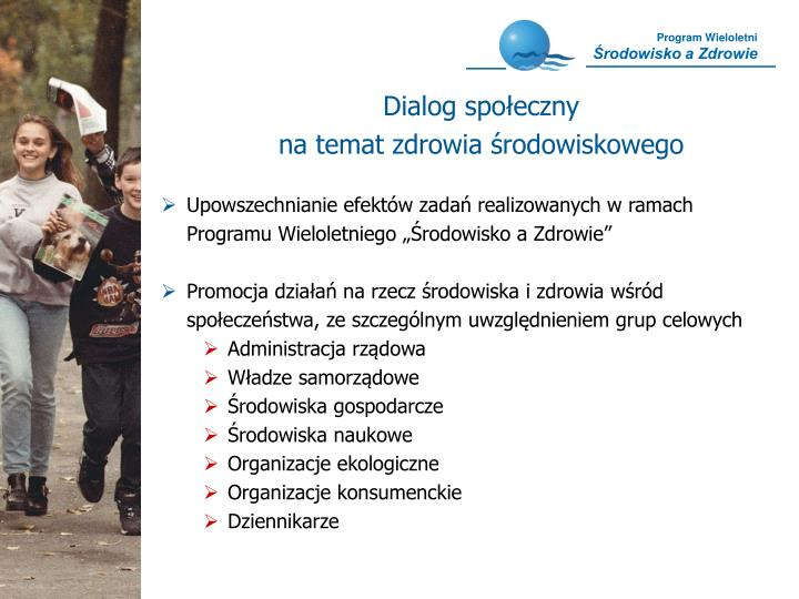 Dialog społeczny