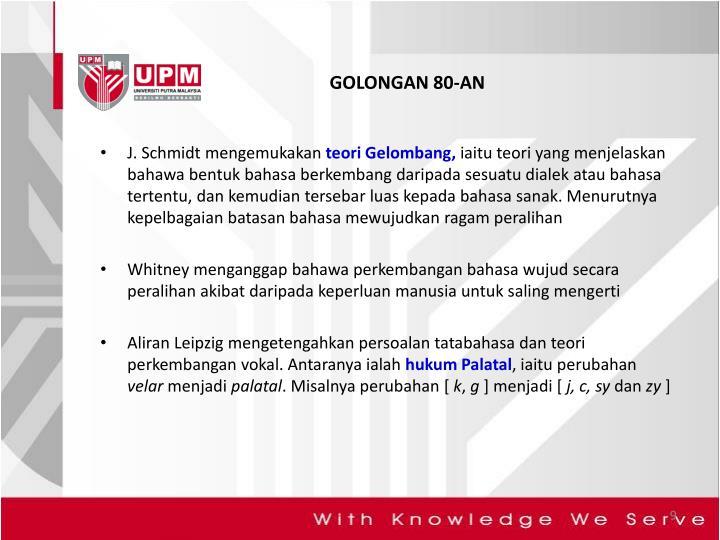GOLONGAN 80-AN