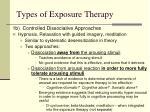 types of exposure therapy1