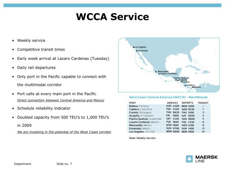 WCCA Service
