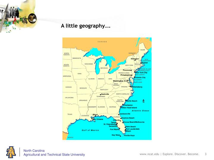 A little geography….