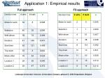 application 1 empirical results1