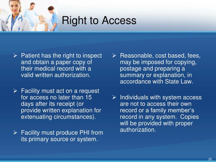 Right to Access