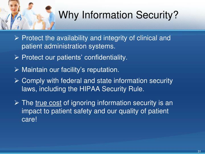 Why Information Security?