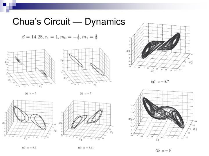Chua's Circuit — Dynamics