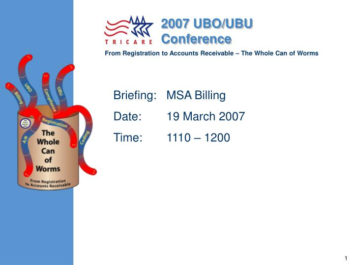 briefing msa billing date 19 march 2007 time 1110 1200 n.